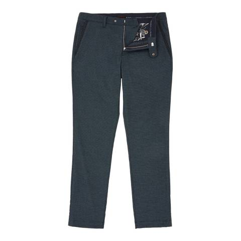 Ted Baker Navy Unpar Water-Repellent Golf Trousers