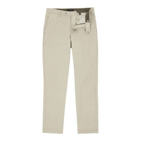 Ted Baker Grey Golftoo Printed Golf Chinos