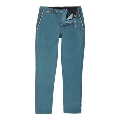 Ted Baker Blue Golftro Water-Repellent Chinos