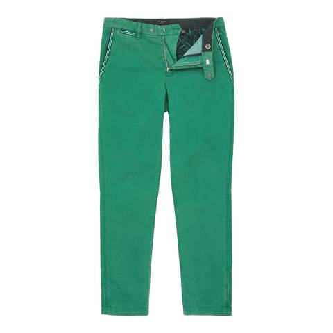 Ted Baker Green Golftro Water-Repellent Chinos