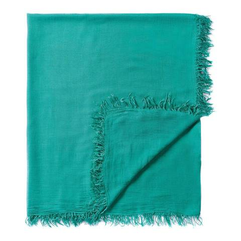 Pure Collection Emerald Ultra Soft Gauzy Scarf