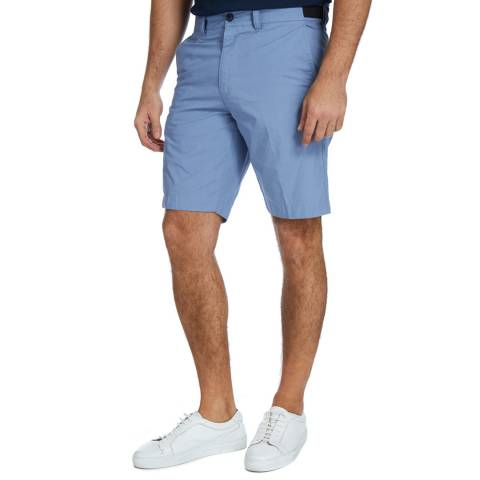 Diesel Blue Drive Cotton Shorts