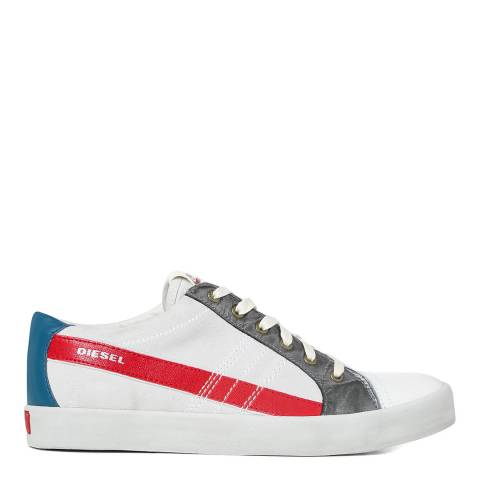 Diesel Vintage String Low Leather Trainers