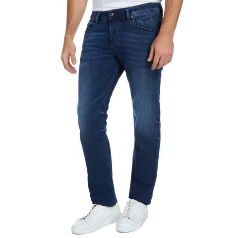 Diesel Washed Blue Belther Slim Stretch Jeans
