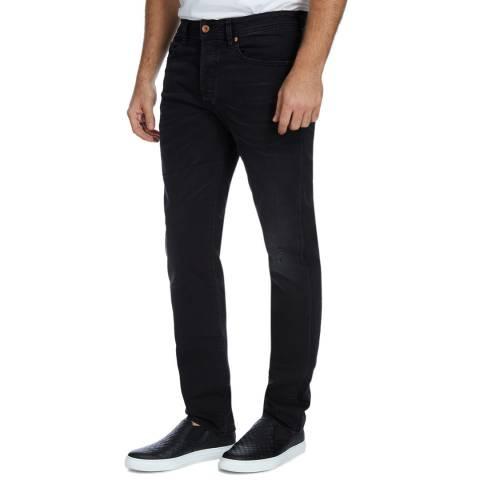 Diesel Black Buster Slim Stretch Jeans