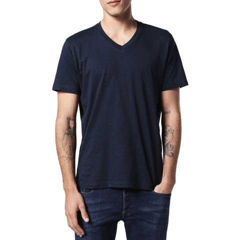 Diesel Navy Keith Cotton Tee