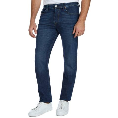 Diesel Blue Denim Buster Slim Stretch Jeans