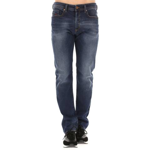 Diesel Mid Blue Buster Slim Stretch Jeans