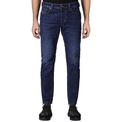 Diesel Blue Denim Tepphar Slim Stretch Jeans