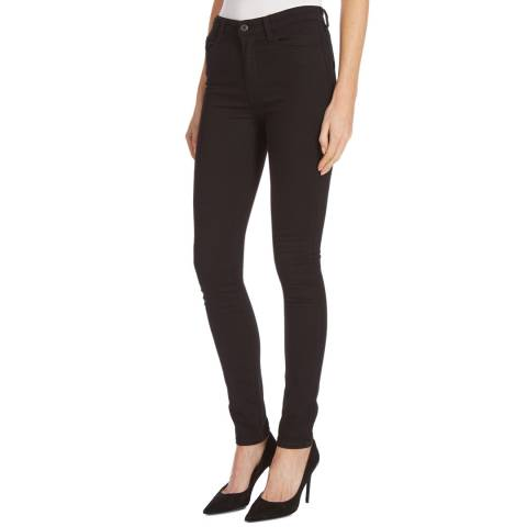 Diesel Black Skinzee High Rise Stretch Jeans