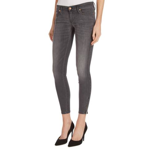Diesel Charcoal Skinzee Stretch Jeans