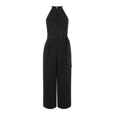 Oasis Multi Glitter Spot Jumpsuit