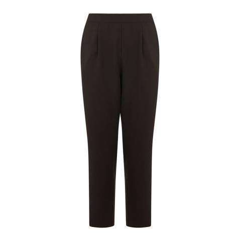 Oasis Black Glitter Side Stripe Trousers