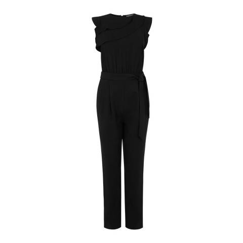 Oasis Black Ellie Jumpsuit
