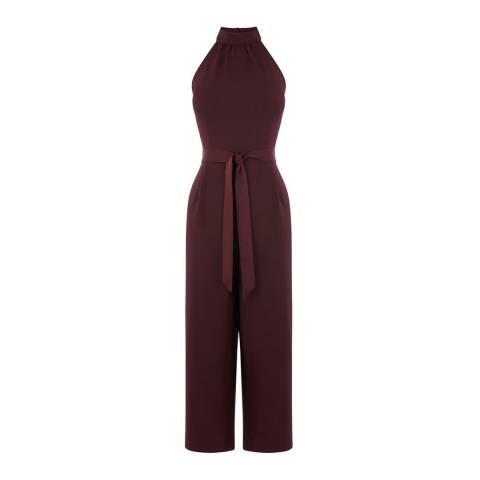 Oasis Dark Purple Meghan Jumpsuit