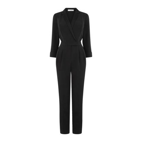 Oasis Black Tuxedo Jumpsuit