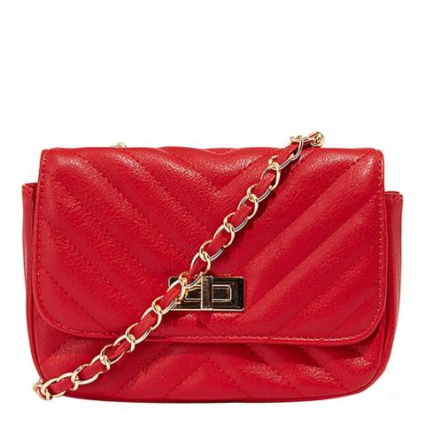 Oasis Mid Red Quilted Opera Bag