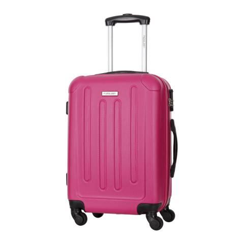 Travel One Fuchsia Rivera 4 Wheel Suitcase 70cm
