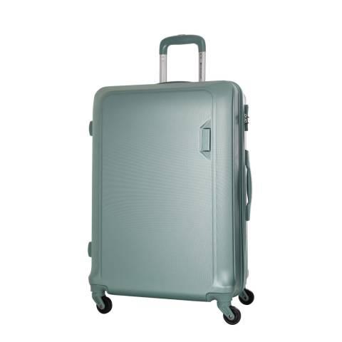 Platinium Green Buccia 4 Wheel Suitcase 56cm