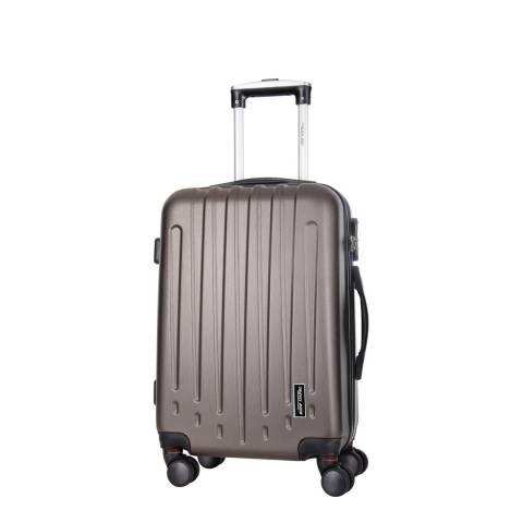 Travel One Coffee Haryana 8 Wheel Suitcase 50cm