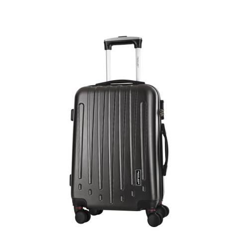 Travel One Grey Haryana 8 Wheel Suitcase 50cm