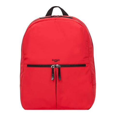 "Knomo Red Berlin 14"" Backpack"