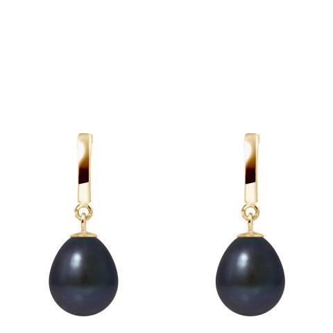Mitzuko Black Pearl Earrings