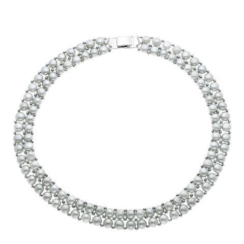 Mitzuko Silver Freshwater Pearl Necklace