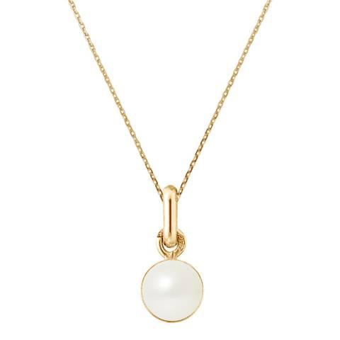 Mitzuko White Pearl Necklace 8-10mm