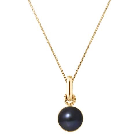 Mitzuko Black Pearl Necklace 8-10mm
