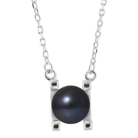 Mitzuko Black Pearl Necklace 10-12mm