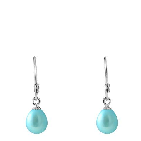 Mitzuko Blue Pearl Earrings