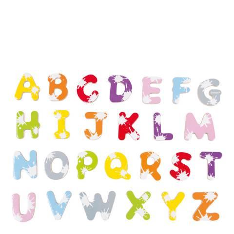 Janod Set of 52 Splash Letters