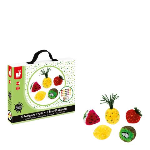 Janod Fruit Pom Poms