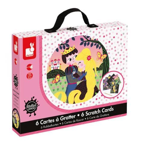 Janod Rapunzel Scratch Cards