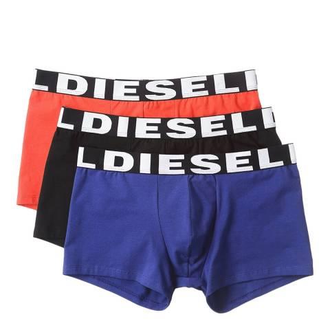 Diesel Red/Black/Blue 3 Pack Shawn Boxers