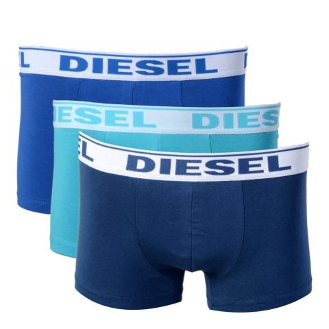 Diesel Blue Mix 3 Pack Shawn Boxers