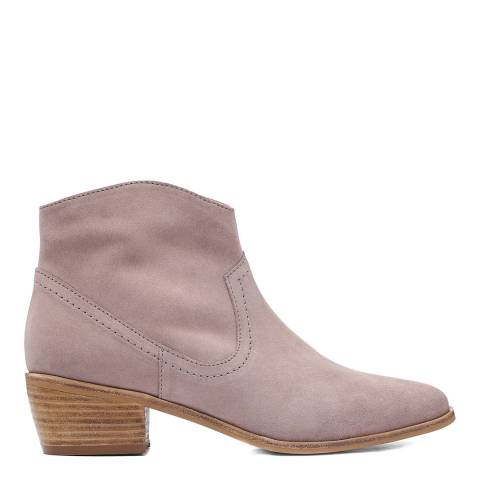 Laycuna London Stone Western Suede Spanish Boots