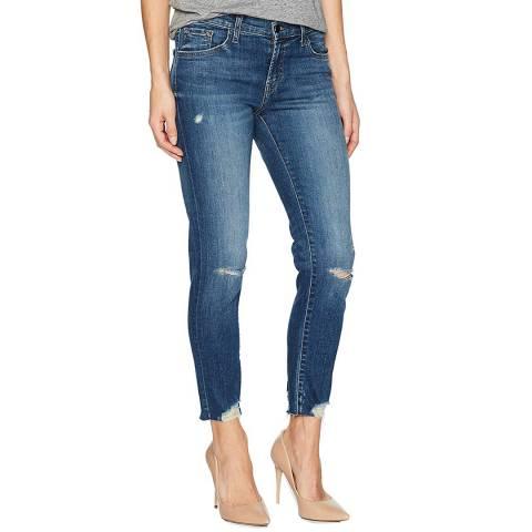 J Brand Indigo Sadey Slim Straight Jeans