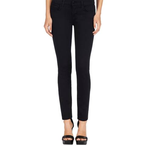 J Brand Black 811 Mid Rise Skinny Jeans