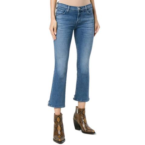 J Brand Mid Blue Selena Boot Cut Stretch Jeans