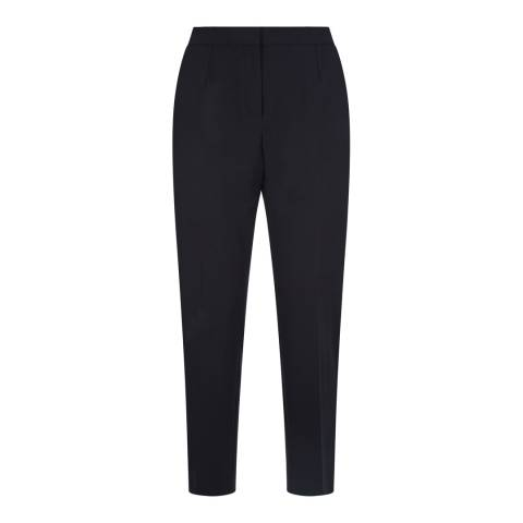 Jaeger Black Dart Detailed Trousers