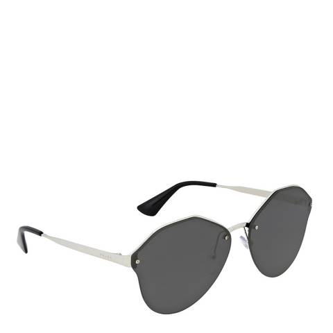 Prada Silver / Dark Grey Metal