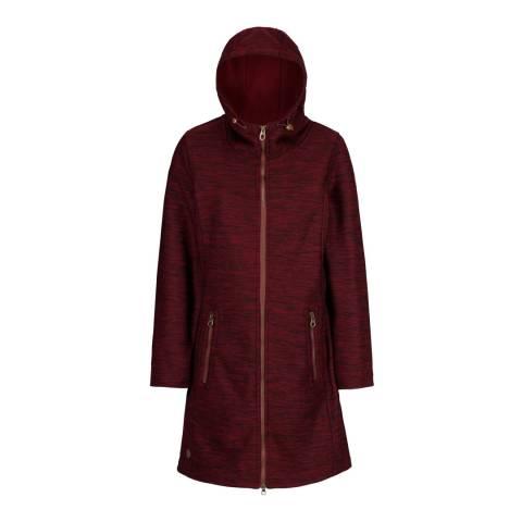 Regatta Burgundy Alinta Softshell Jacket