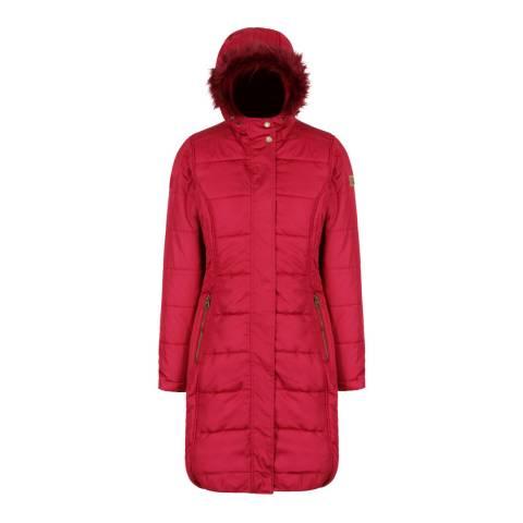 Regatta Red Fermina II Puffer Parka Jacket