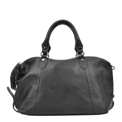 Mangotti Black Top Handle Bag