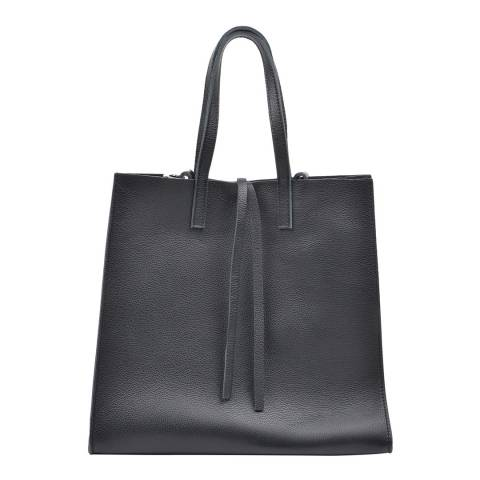 Mangotti Black Shopper Bag