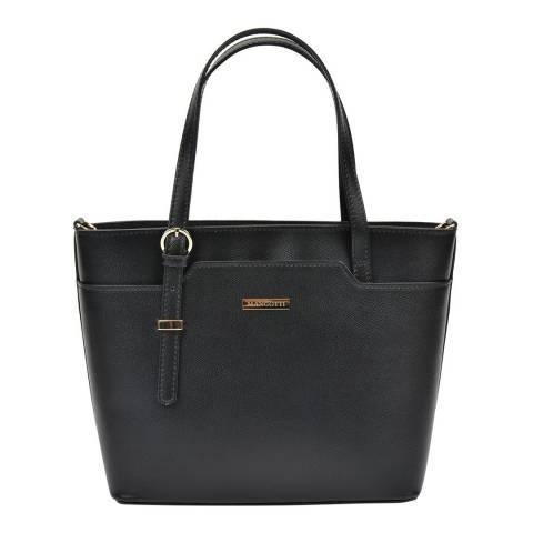 Mangotti Black Mangotti Top Handle Bag