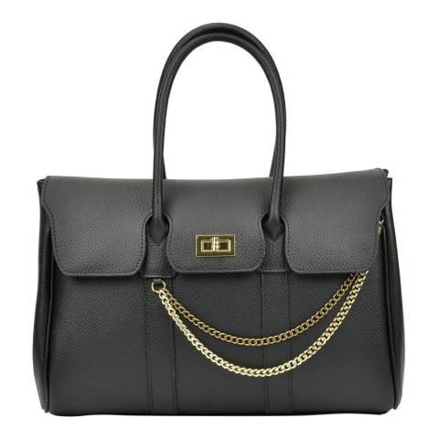 Mangotti Black Mangotti Tote Bag