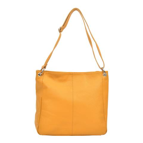 Carla Ferreri Yellow Shoulder Bag